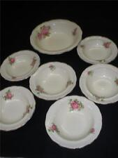 STUNNING RETRO  7 PIECE PORCELAIN SWEETS SET PALISSY POTTERY ENGLAND