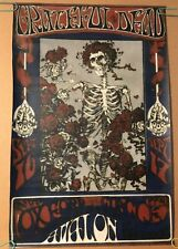 Grateful Dead Avalon Ballroom Poster Canvas Print Stanley Mouse Alton Kelley