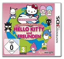 Nintendo 3ds Dual Screen gioco * Hello Kitty e & amici tutto il mondo * NUOVO