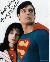 Margot Kidder superman authentic hand signed autograph signature photo AFTAL COA