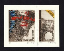 42)Nr.077-EXLIBRIS,Künstler unbekannt, Auflage: 8/20, signiert,  C3- Radierung