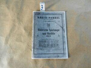 Katalog von Radio-Henkel aus Chemnitz (Kopie) mit Figuren von Roland Weber