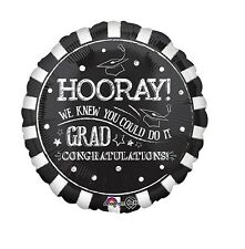 Party Supplies Celebrate Graduation Hooray You Did It 45cm Foil Balloon