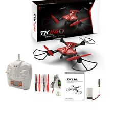 Skytech TK110HW Foldable WIFI FPV RC Drone Quadcopter Altitude Hold Mode Red