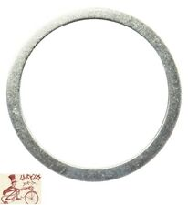 """ORIGIN8 ALLOY 2mm x 1"""" SILVER BICYCLE HEADSET SPACERS--BAG OF 10"""