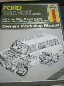 MANUALE OFFICINA FORD TRANSIT 1978-1986  WORKSHOP MANUAL SERVICE