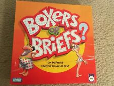 Parker Brothers ©2005 BOXERS or BRIEFS? Grownups Party Game COMPLETE