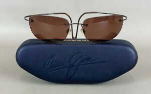 MAUI JIM Sport MJ-502-02 Titanium Sunglasses w/ Case