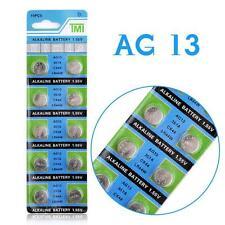 (2)PO// BLISTER DE 10 PILES BOUTON LR44 /AG13 BATTERIE 1.55 V