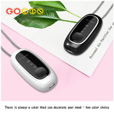 New USB Necklace Portable Air Purifier Personal Anion Wearable Negative Ionizer