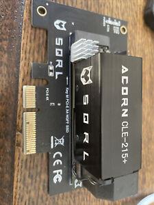 SQRL FPGA crypto miner. Acorn CLE-215+ xilinx ARTIX-7 -High-Power M.2 PCIe x4