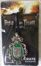 Loot Crate Level Up LVLUP Attack on Titan Choker Necklace Wings of Freedom