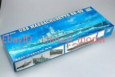 Trumpeter 1/350 05306 USS Massachusetts BB-59 model kit ◆