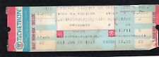 1977 Queen Thin Lizzy unused full concert ticket Chicago A Day At The Races 1/28