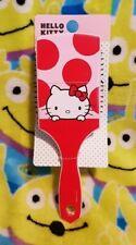 Mad Beauty HELLO KITTY Pink & Red Compact Paddle Hair Brush Sanrio Kawaii