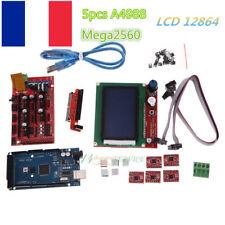 Imprimante 3D RAMPS1.4 Kit + Mega2560 + 5pcs A4988 + écran LCD 12864 pour RepRap