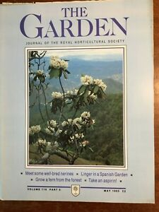 THE ROYAL HORTICULTURAL SOCIETY THE GARDEN JOURNAL MAY 1993 VOL 118 PART 5