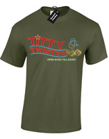TITTY TWISTER MENS T-SHIRT FUNNY VAMPIRES RETRO MOVIE FILM CULT