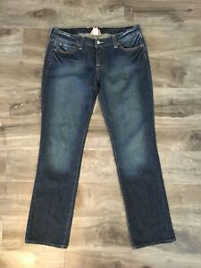 """Lucky Women/'s Jeans Lola Boot Denim Super Stretch Size 0//25 34/"""" Long 7WD1844"""