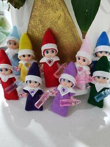 Christmas Elf Baby DOLL TOY + FREE Bottle +DUMMY-BIRTH CERT-Easter-Birthday PROP
