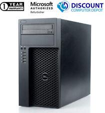 Dell T1700 Desktop Computer Windows 10 Pro Xeon Workstation 16GB 1TB + 128GB SSD