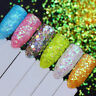 BORN PRETTY Holographic Nail Glitter Sequins Colorful Nail Art Flakies Decors