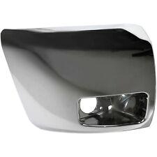Chrome Front Bumper End Cap For 2007 2013 Chevrolet Silverado 1500 With Fog Lamp Fits 2013 Silverado 1500