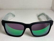 *NEW* Arnette Sunglasses Swindle 4218-2334/3R Fuzzy Black Green Mirror [57-18]