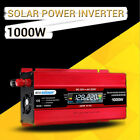 1000W DC 12V to AC 220V LCD Digital Display Inversor de corriente Convertidor