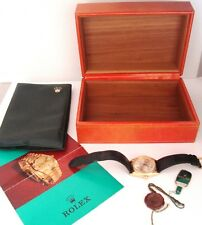 18CT GOLD ROLEX OYSTER DAY DATE PRESIDENT PERPETUAL WITH BOX & PAPERS