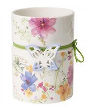 Villeroy & Boch Mariefleur Spring Vase breit 1486345130 18 cm hoch Schmetterling