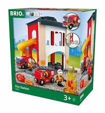 BRIO 33833 fire station set children kids toys. Brand new. Free Post