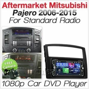Car DVD Radio For Mitsubishi Pajero Player Stereo Head Unit Fascia Facia Kit AT