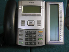 Nortel 1120E IP Phone NTYS03BCE6 with EXPMOD IP 1100 SERIES  EXPANSION Module