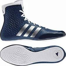 Adidas KO Legend Boxing Shoes Boots Blue & White Lace Up
