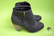New Look Synthetic Leather Block Low Heel (0.5-1.5 in.) Women's Shoes