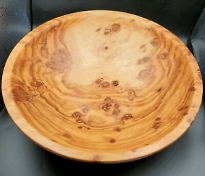 "Vintage Rosewood  Handmade Decorative/salad Bowl 12"""