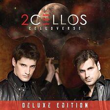 2CELLOS - CELLOVERSE: DELUXE EDITION CD & DVD ALBUM SET (February 9th, 2015)