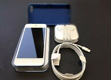 apple ipod touch 6th generation 32gb Blue Excellent Unused Accessories