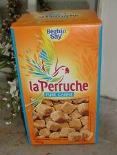 2 x 750 g La Perruche pure canne Würfelzucker unregelmäßig brauner Rohrzucker