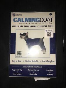 AKC CalmingCoat Anti-Anxiety & Calming For Your Dog - Blue XL