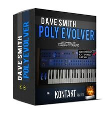 Dave Smith POLY EVOLVER for Kontakt Player NKI SAMPLE LIBRARY sounds samples NI