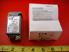 Eaton E50SGN Series A3 Limit Switch Body Only Eaton Single Pole Cutler Hammer