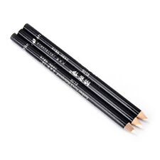 3x Waterproof Eye Liner Pencil Cosmetic Soft Eyeliner Pen Makeup Long-lasting FG White