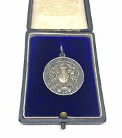 RARE LONDON LIFE SAVING MEDAL AWARDED TO BRITISH OLYMPIC SWIMMER GEORGE INNOCENT