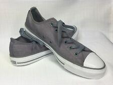Gray Grey Converse LOW TOPS mens 6.5 womens 8.5 *NEW* (T1)