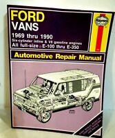 Automotive Repair Manual Ford Vans 1969 to 1990 Haynes