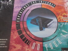 Vintage Collectable 1990's Newcom Webpal Internet TV Web TV Internet Terminal
