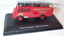 car Circus THE GREATEST SHOW ON EARTH ATLAS - Robert Brothers Green Goddess