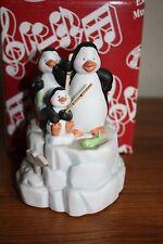 "San Francisco Music Box Company ""Penguins Fishing"""